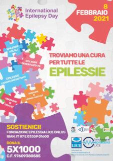 Manifesto Giornata dell'Epilessia