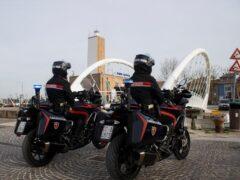 Moto dei Carabinieri