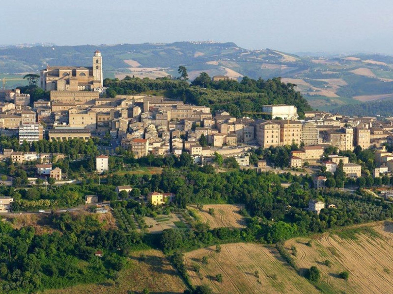 Panorama, veduta di Fermo