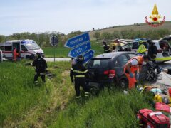 Incidente stradale a Filottrano