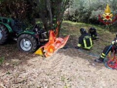 Incidente agricolo a Fano