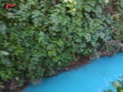 Fosso inquinato a Castelfidardo