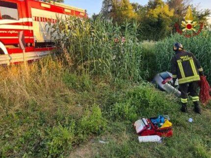 Incidente stradale a Santa Maria Nuova