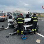 Incidente sull'A-14 nei pressi di Fano