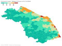 Consumo suolo nelle Marche, dati