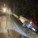 Intervento dei Vigili dei Fuoco a Portonovo