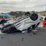 Incidente sulla A14 nei pressi di Civitanova